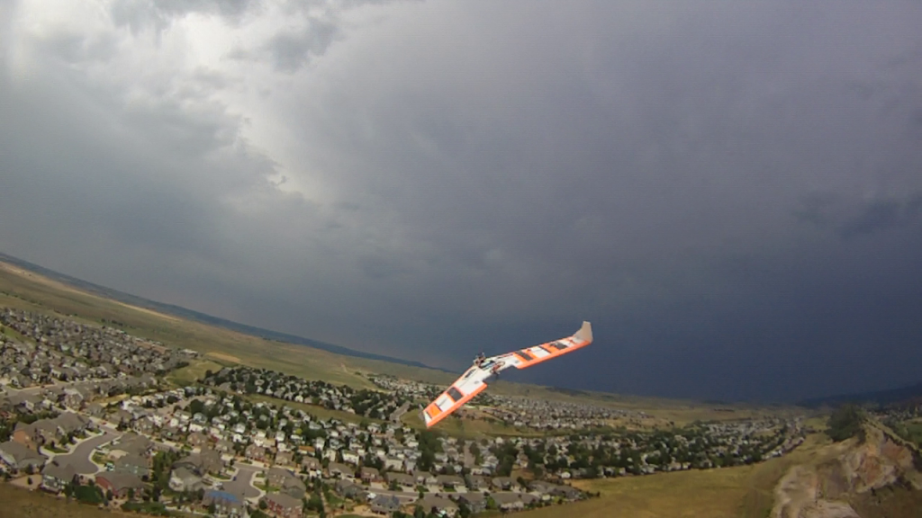 FPV_Wing_In_Flight